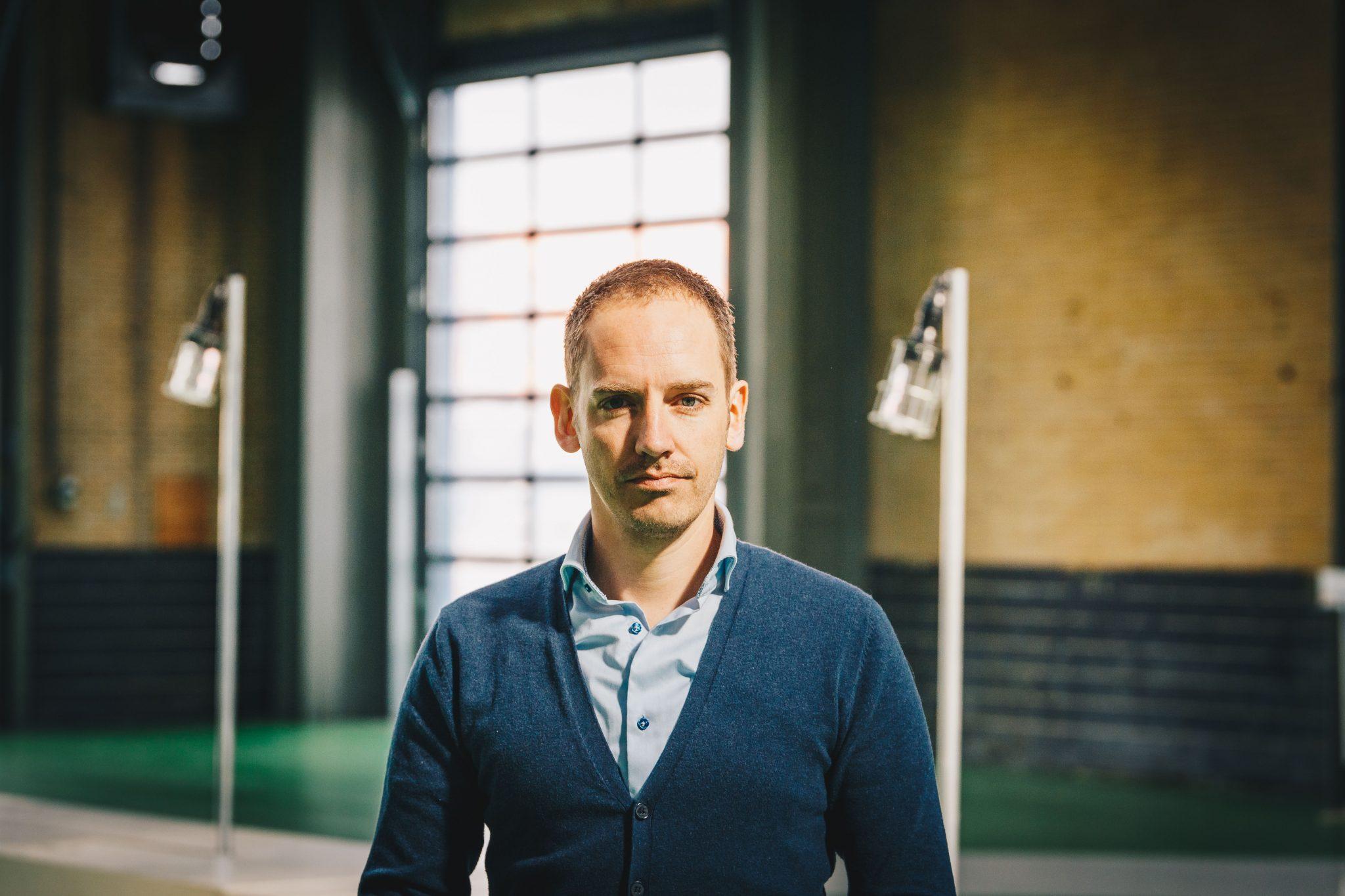 Ondernemer Mark Vletter wil de hele wereld online krijgen