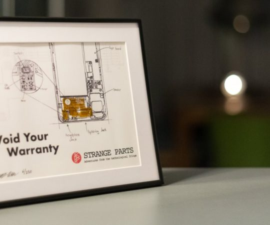 Perfect gift: the Stranger Parts flexible circuit board